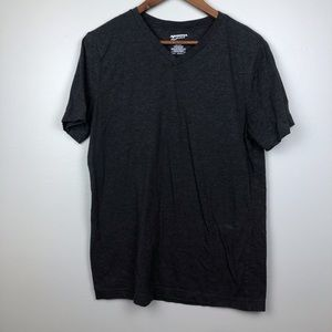 Grey Men's V-Neck T-Shirt